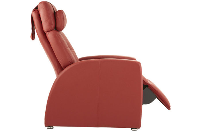 Luma Leather True Zero Gravity Recliner Positive Posture