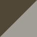 Dark Brown with Stripe